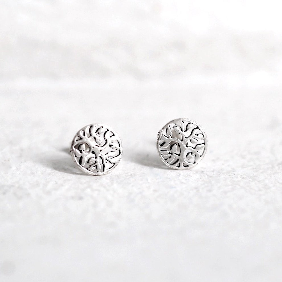 Grow Tree of Life Stud Earrings