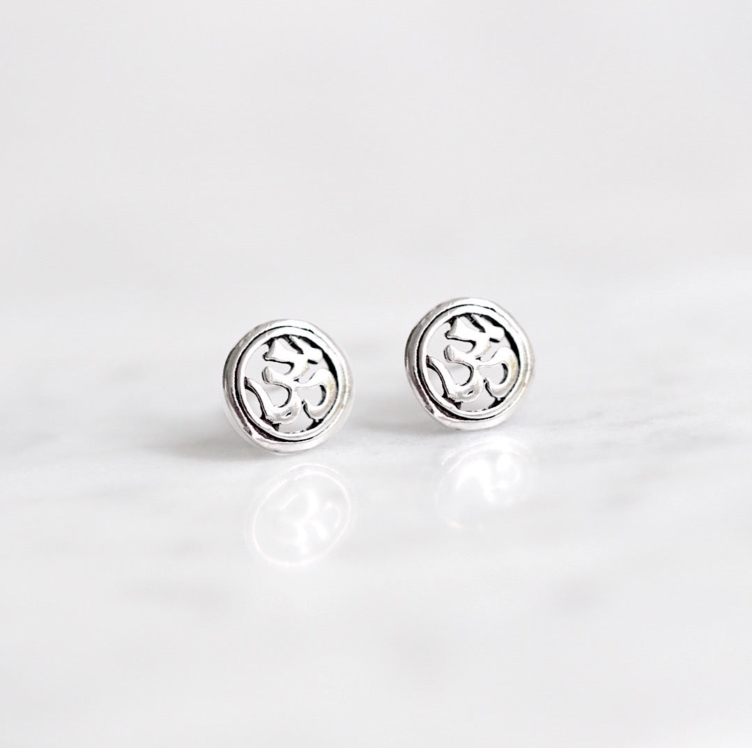Ohm Stud Earrings