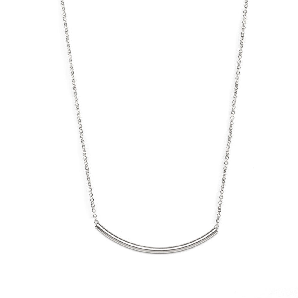 Chic Curve Bar Necklace
