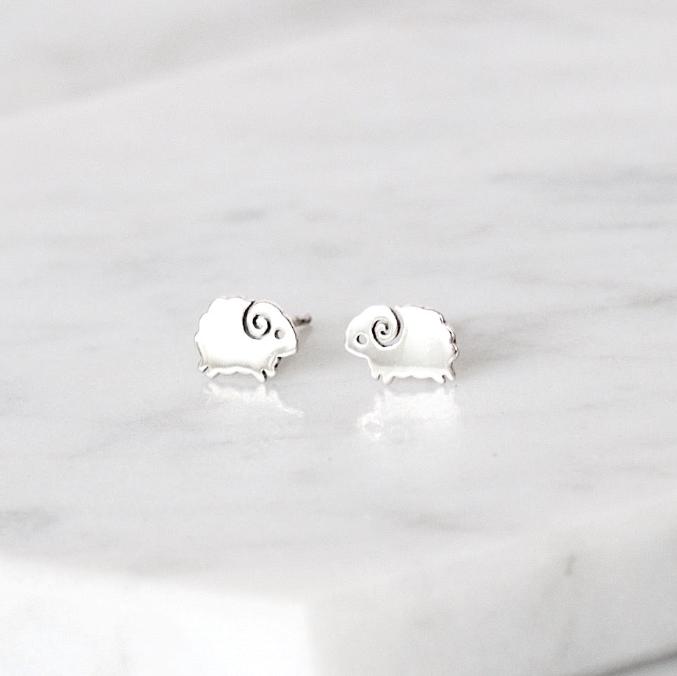 Sheep Stud Earrings