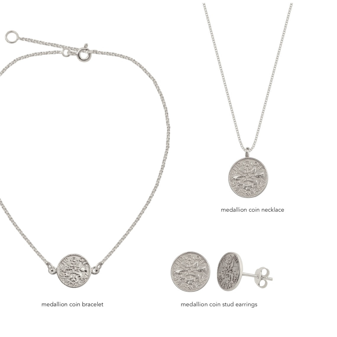 Medallion Coin Bracelet