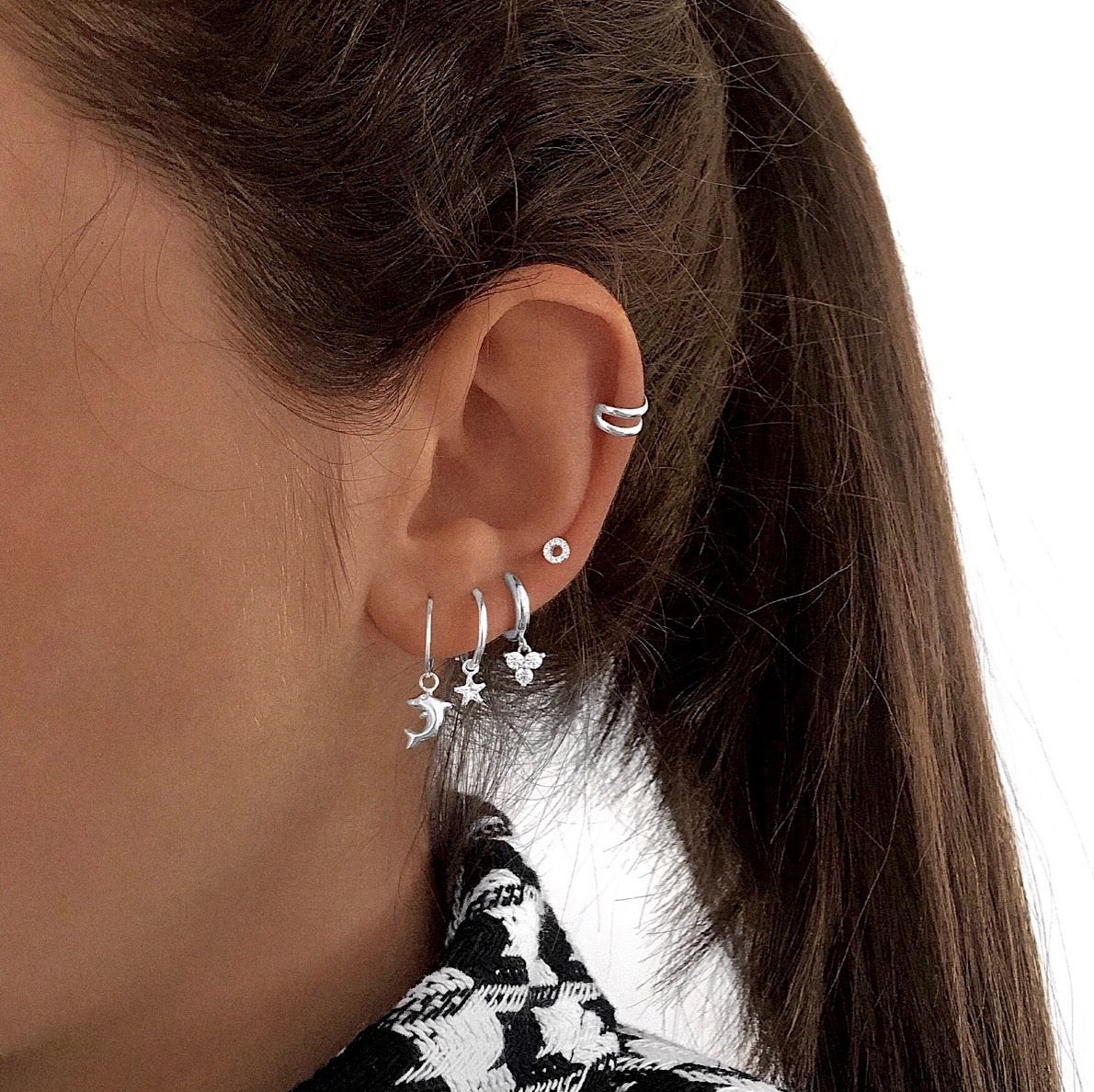 Mini Double Ear Cuff