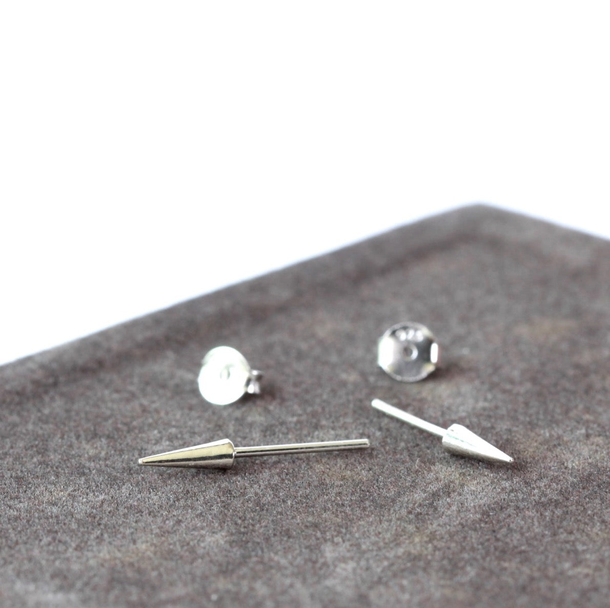 Long Spike Stud Earrings