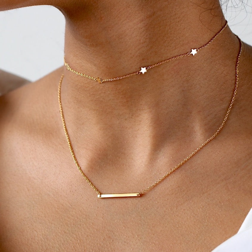 Sleek Bar Necklace