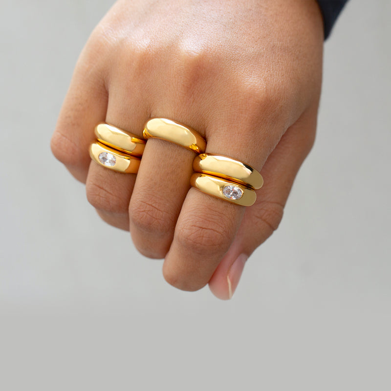 Dome Ring Gold