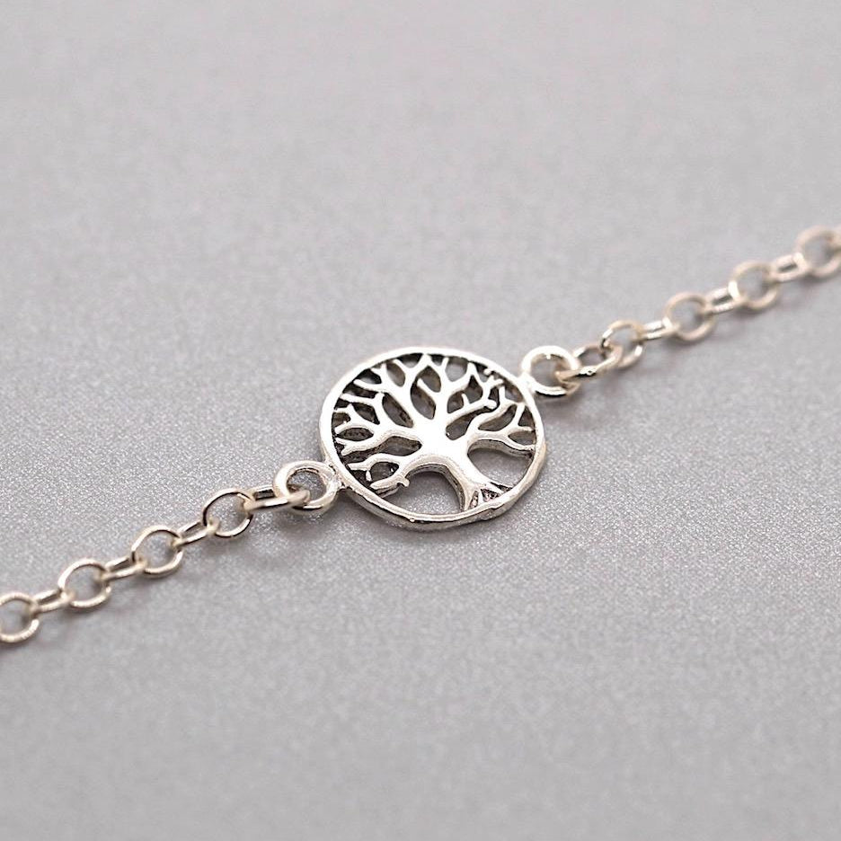 Nature Tree of Life Anklet