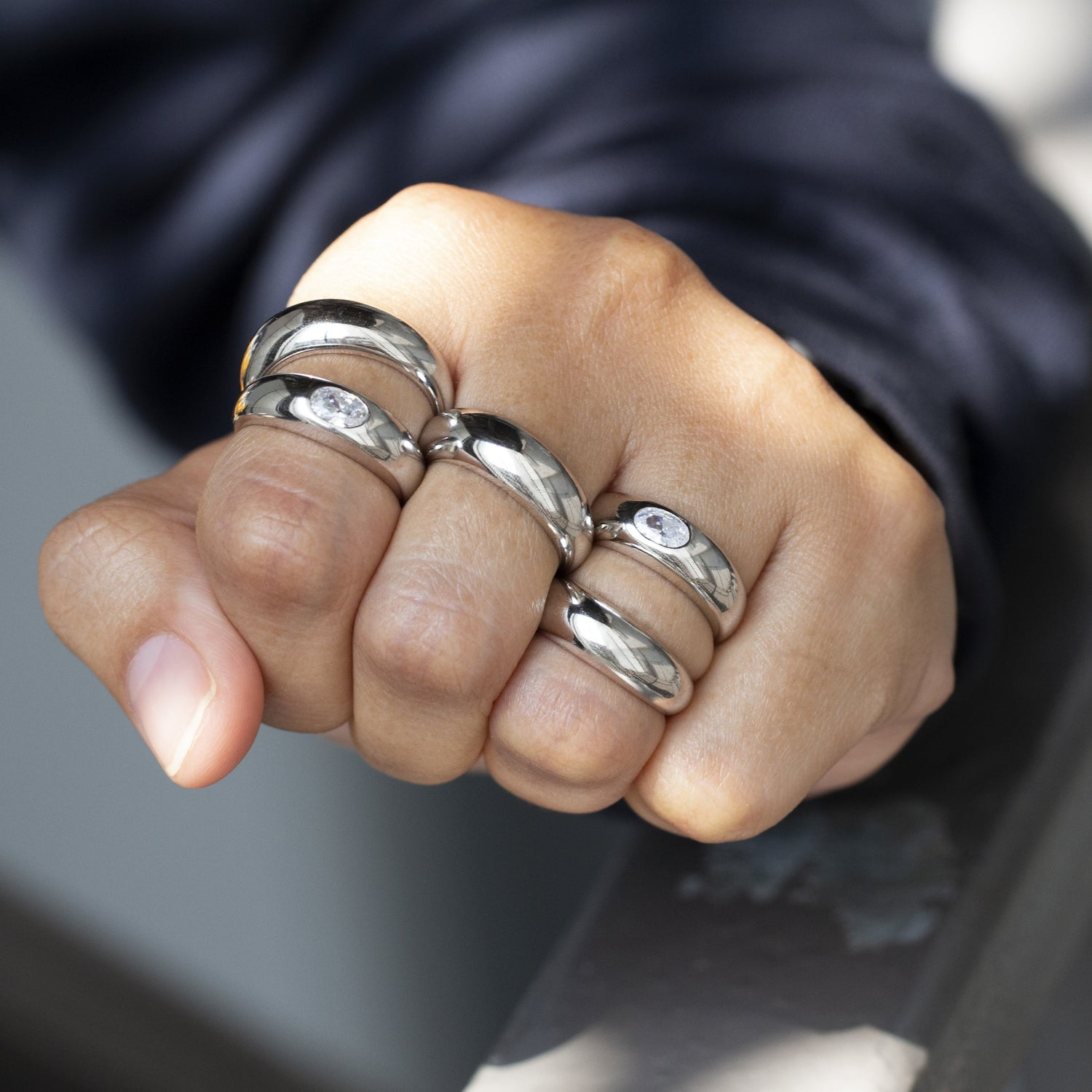Dome Ring Silver