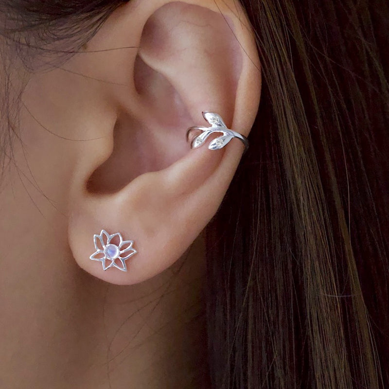 Sparkle Vine Ear Cuff