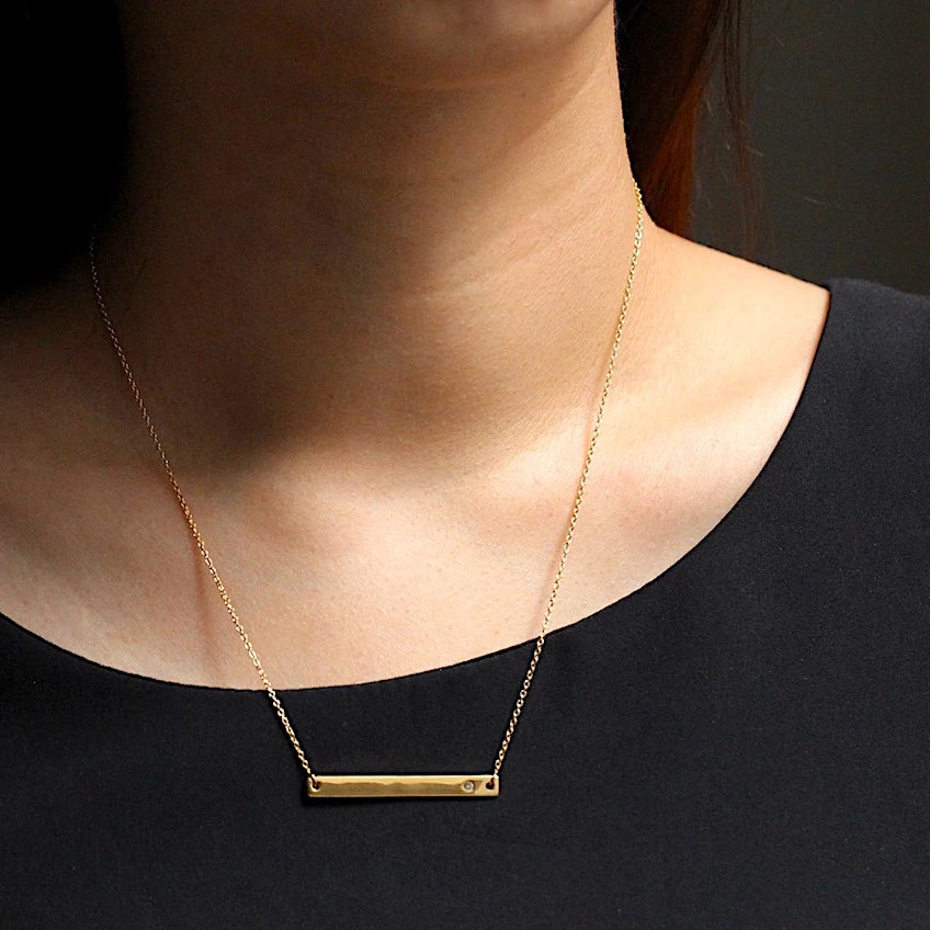 Horizon Bar Necklace