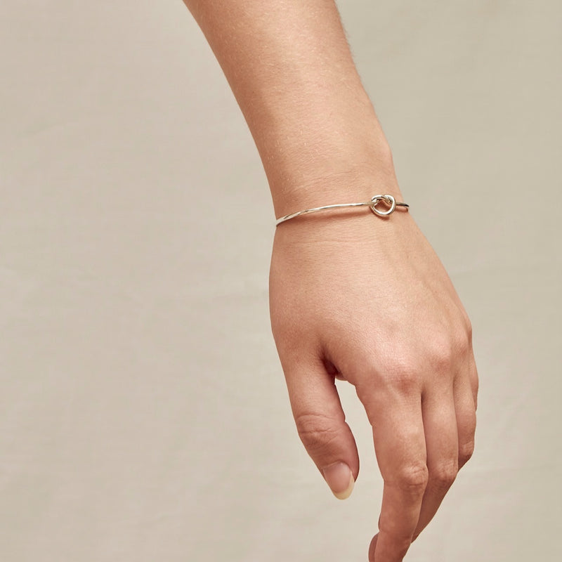 Tie the Knot Cuff Bangle