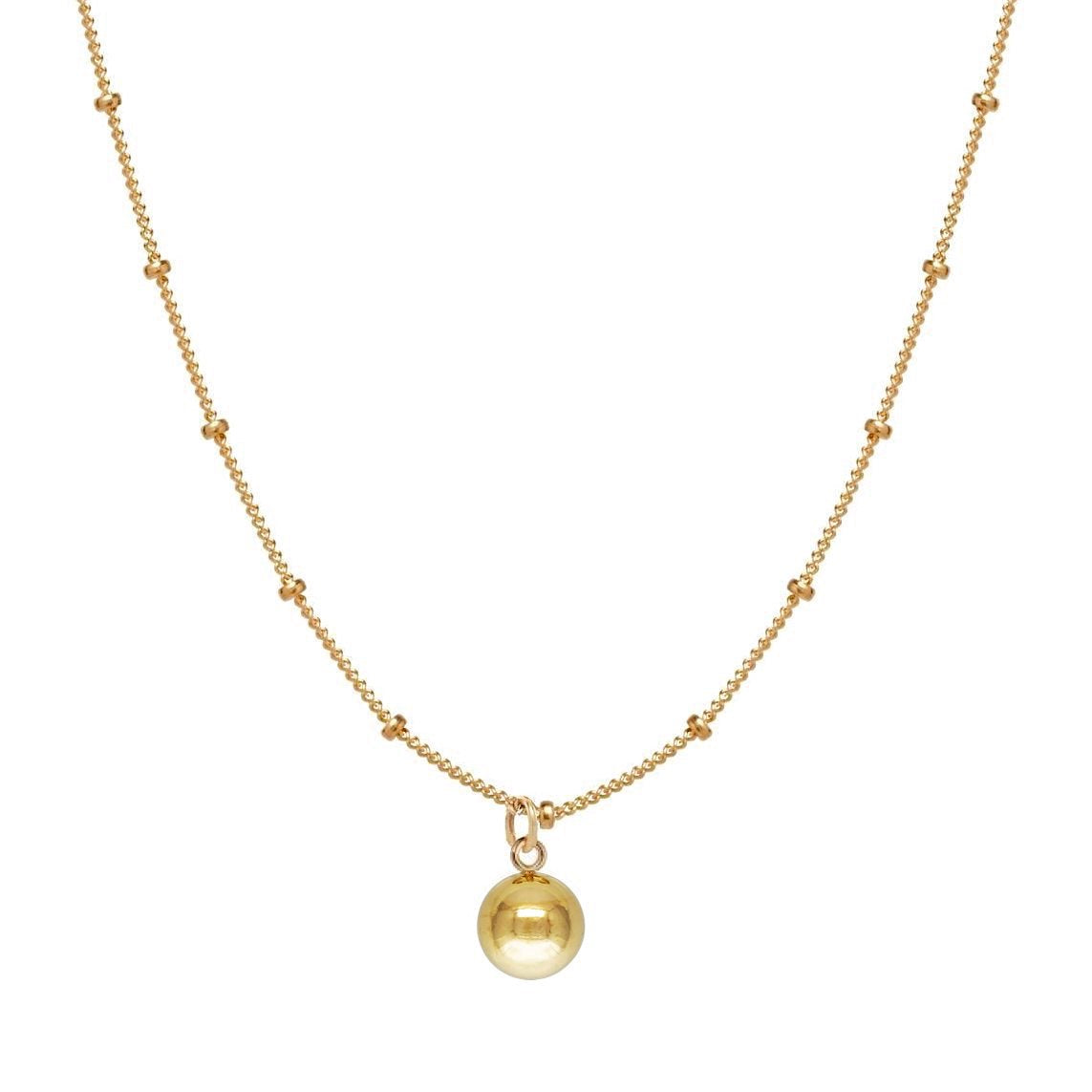 Ball Satellite Chain Necklace