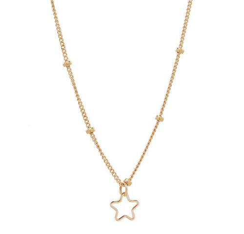 Stellar Satellite Necklace