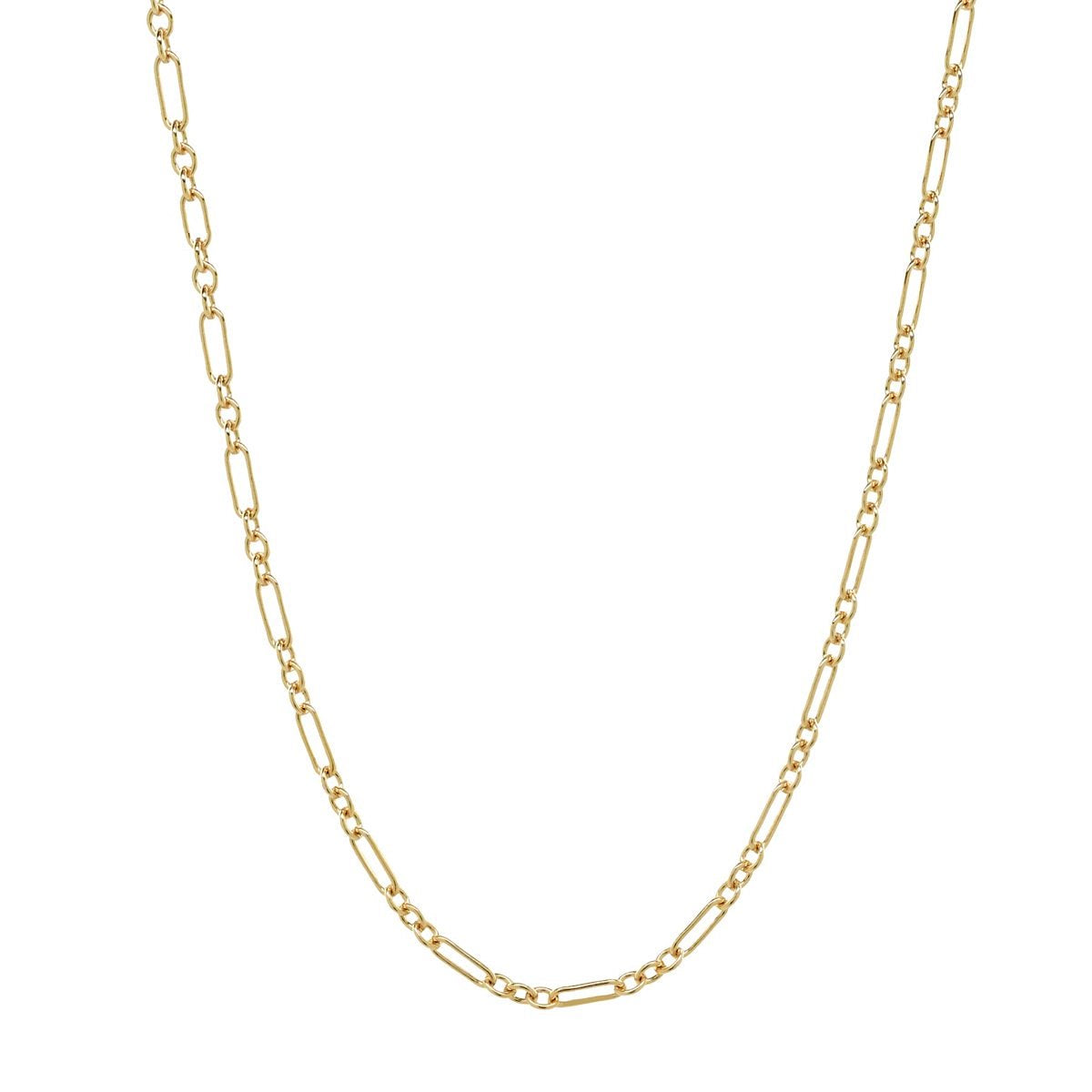 Sleek Chain Gold Choker