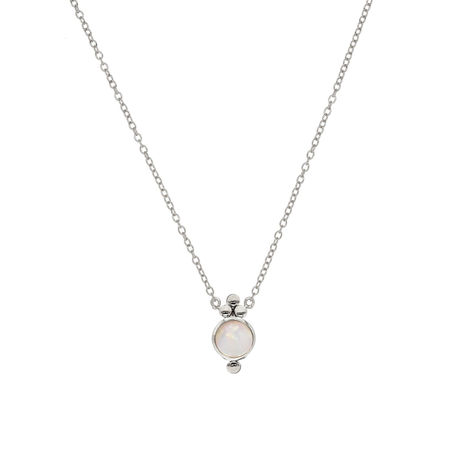 Opal Trinity Necklace