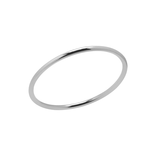 Skinny Stacking Ring Silver