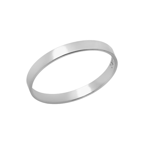 Classic Band Ring Silver