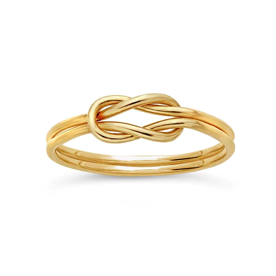 Double Love Knot Ring