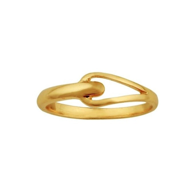 Janet Loop Ring Gold