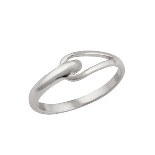 Janet Loop Ring Silver