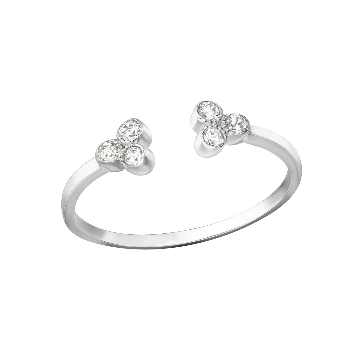 Trinity Solitaire Ring