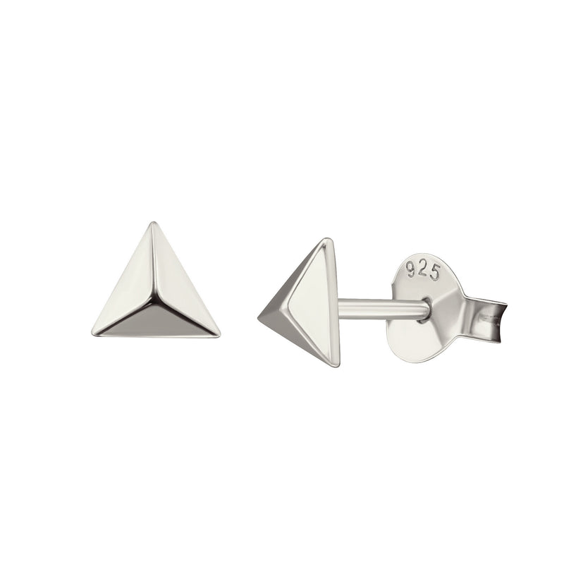 Little Pyramid Stud Earrings