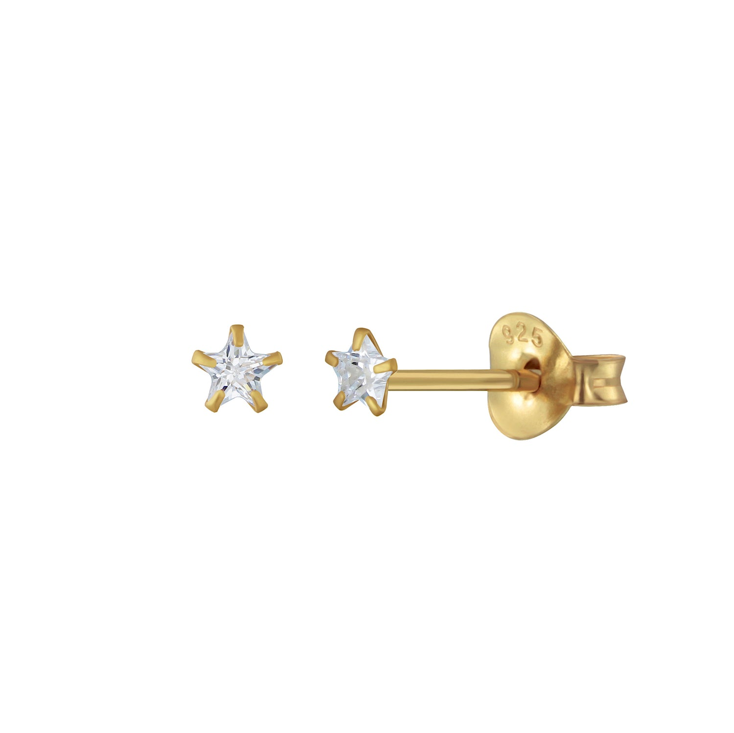 Mini Shining Star Stud Earrings