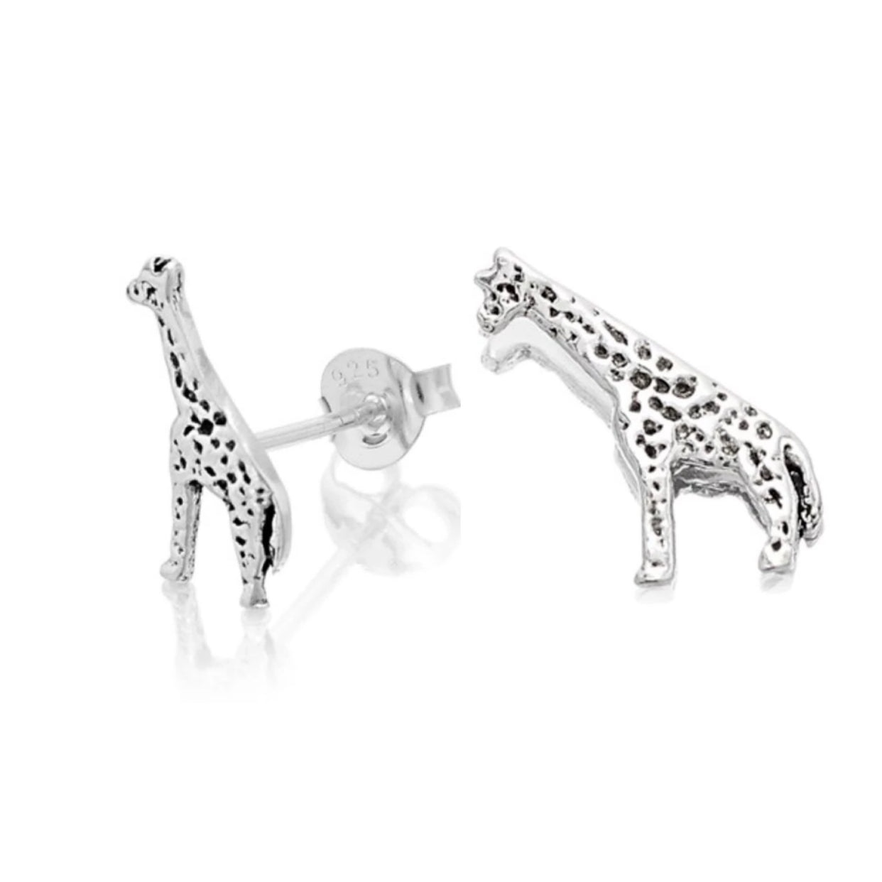 Long Neck Giraffe Stud Earrings