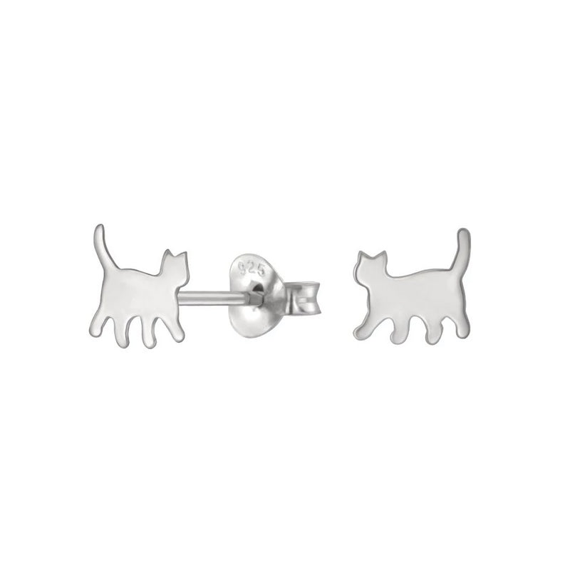 Pixie Cat Stud Earrings