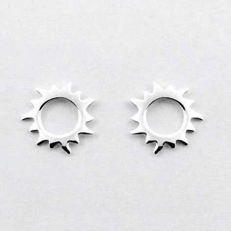 Solar Sun Stud Earrings