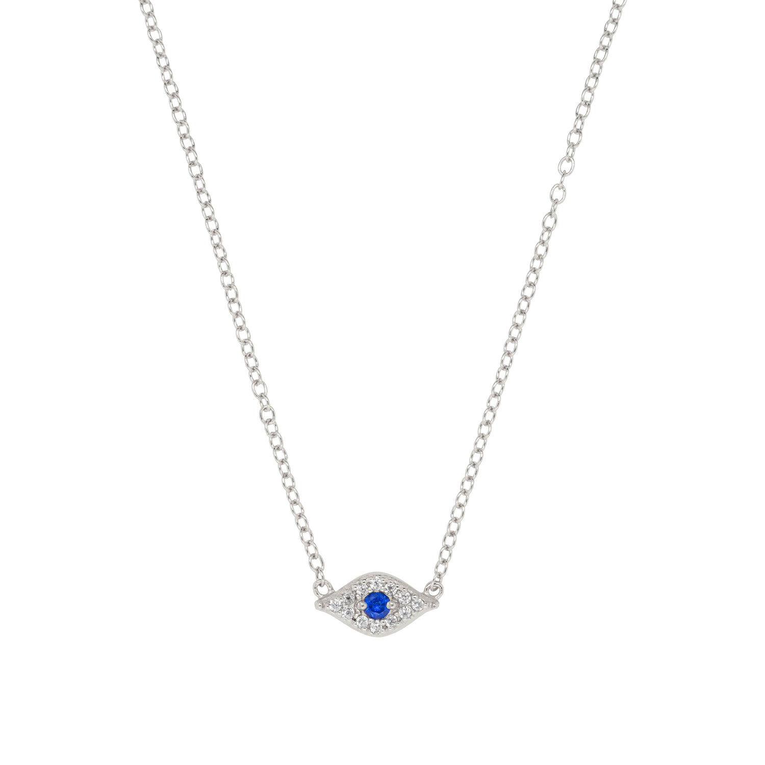 Sparkle Evil Eye Necklace