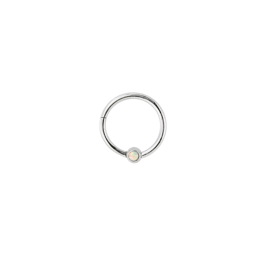 Opal Clicker Ring