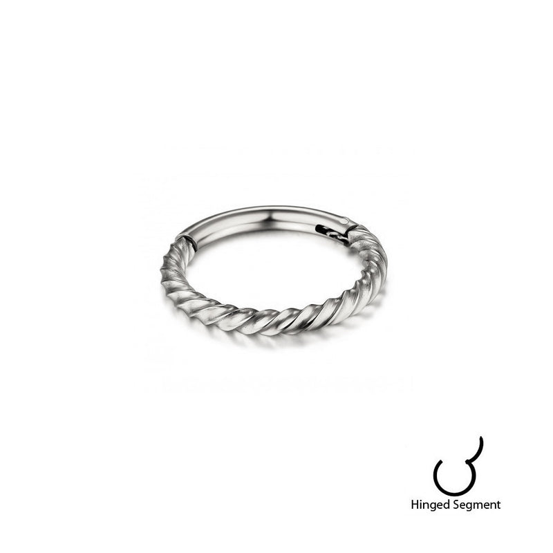 Twist Rope Segment Ring