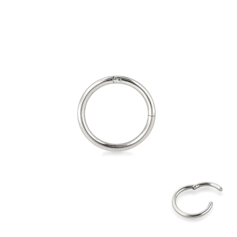 Classic Sterling Silver Clicker Ring