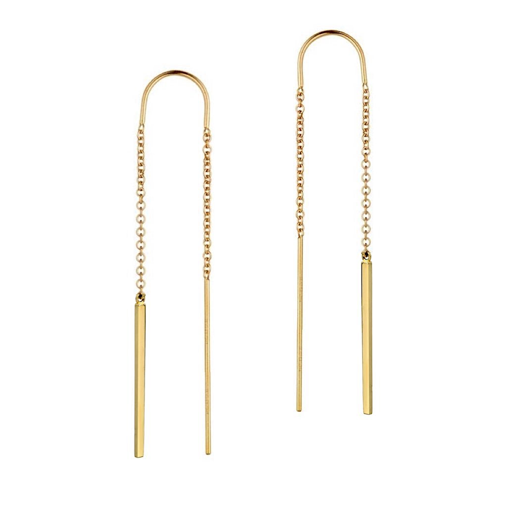 Bar Threader Earrings
