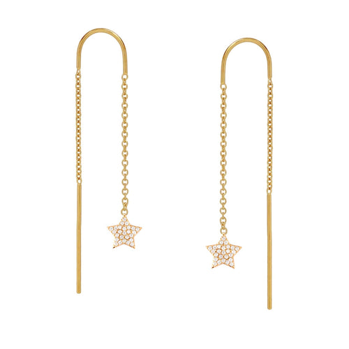 Starry Star Ear Threader