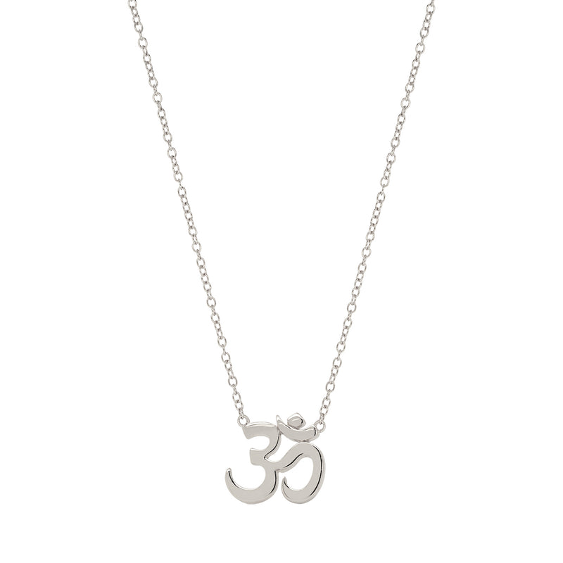 Yoga Om Necklace