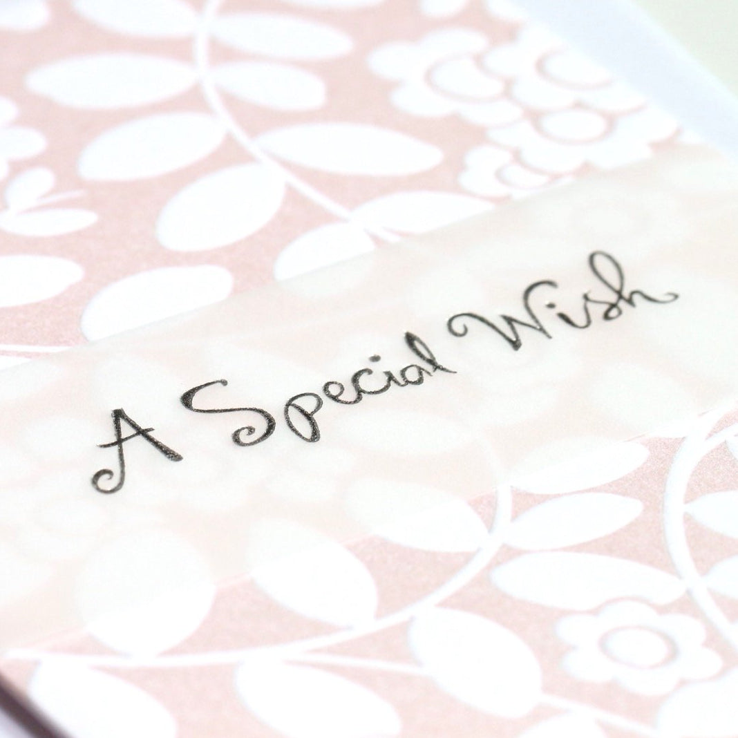 A Special Wish Card