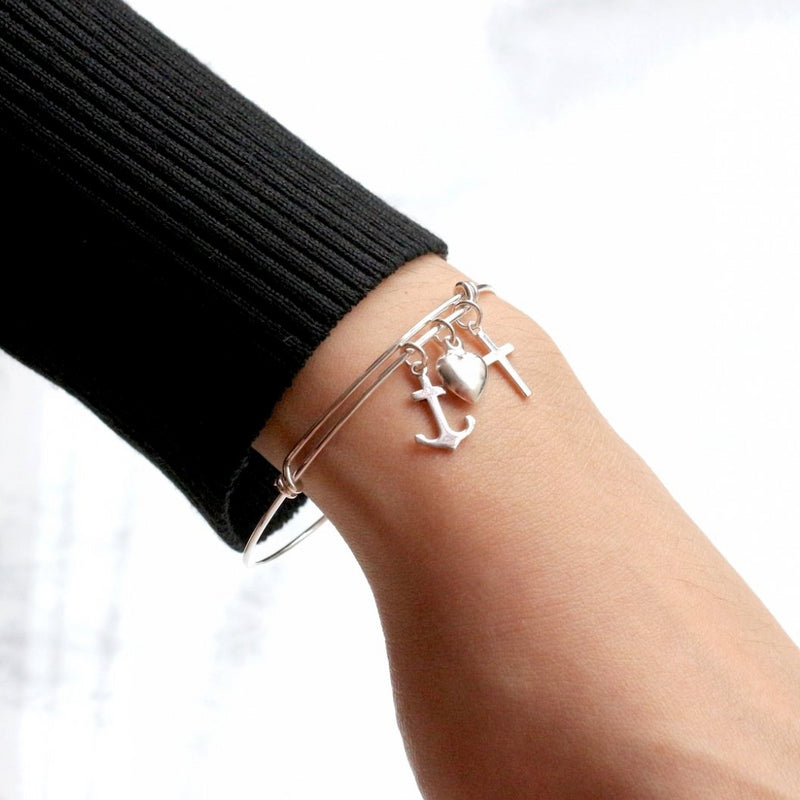 Anchor My Heart Bangle