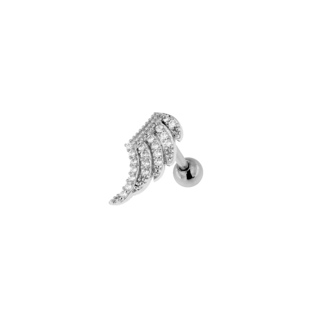 Angelic Glitter Cartilage Barbell