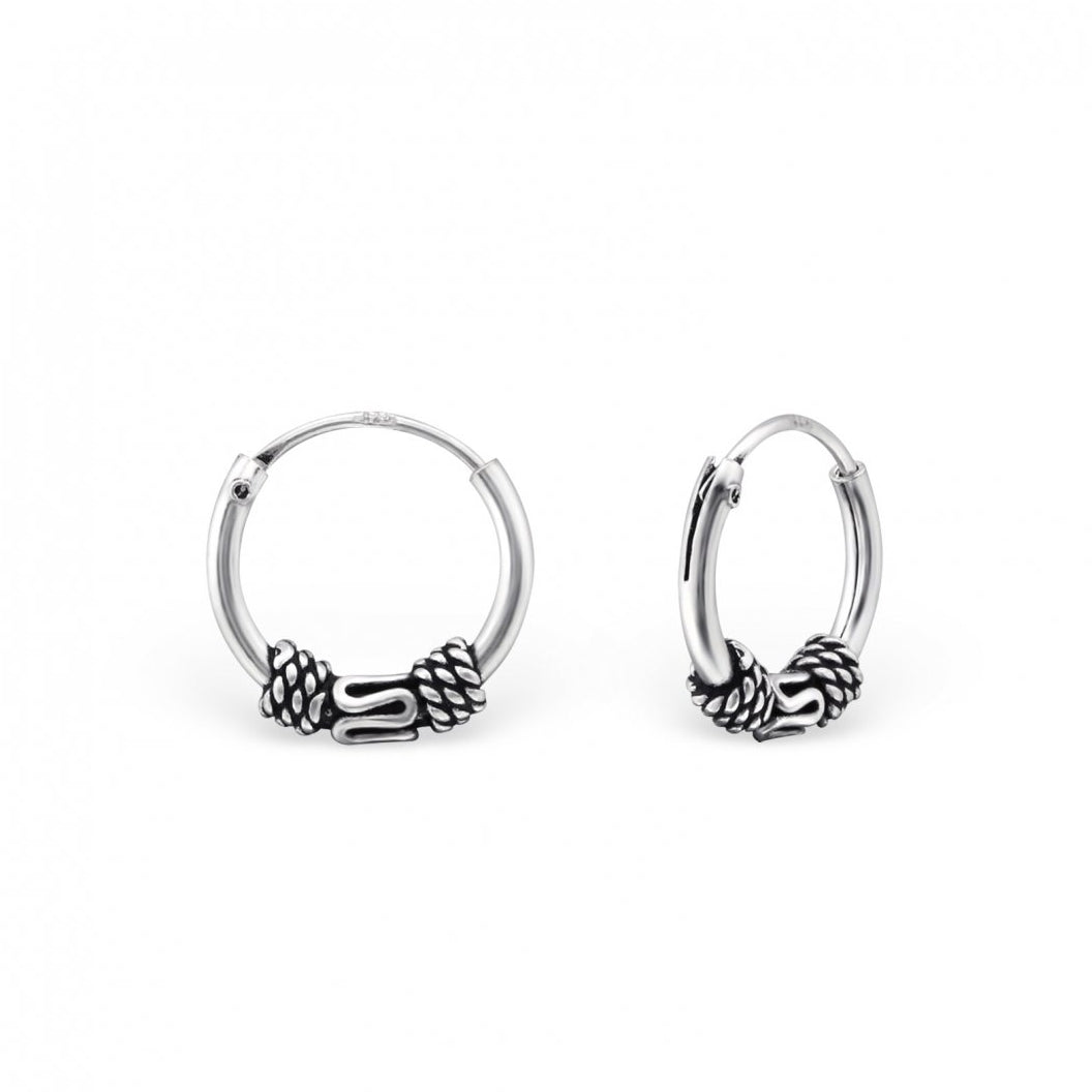 Arti Rope Hoop Earrings