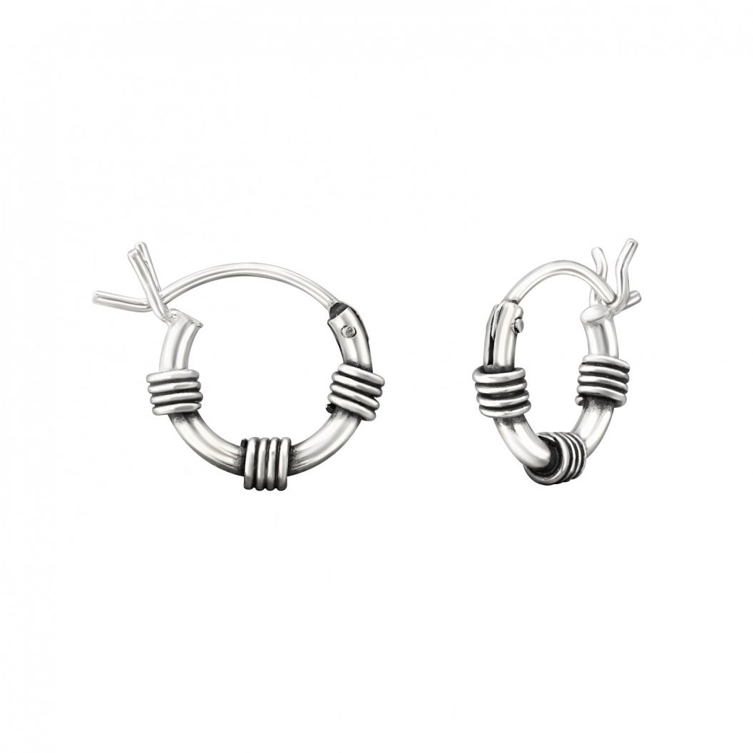 Bali Hai Hoop Earrings
