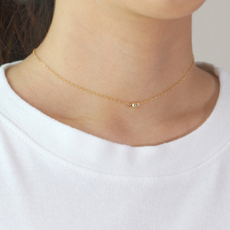 Ball Gold Choker