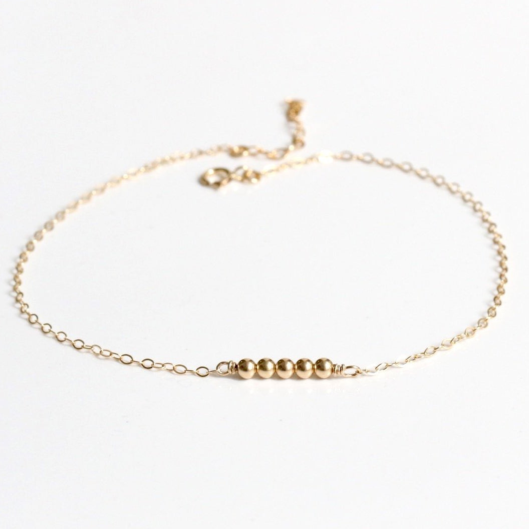 Beads Bar Anklet