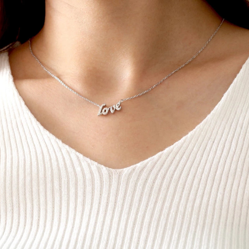 Bling Love Necklace