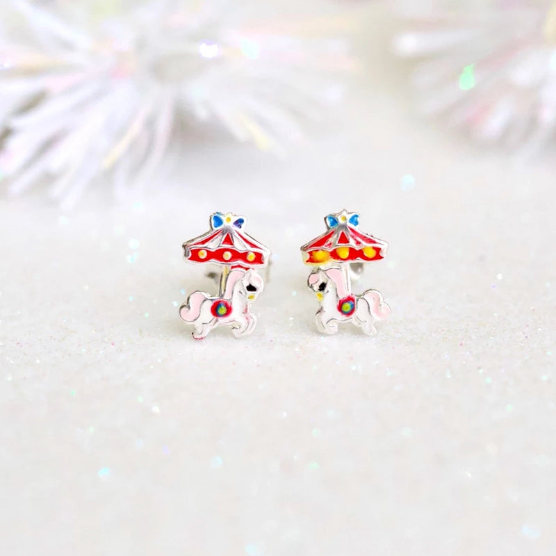 Carousel Stud Earrings