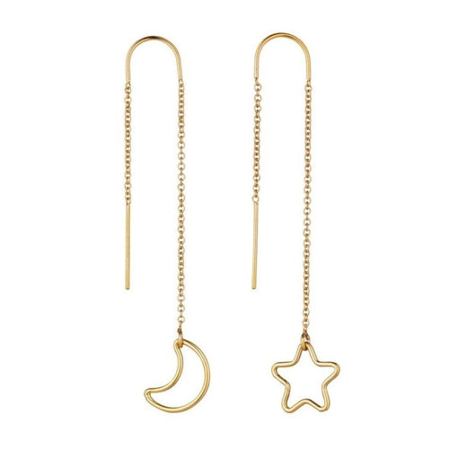 Celestial Threader Earrings