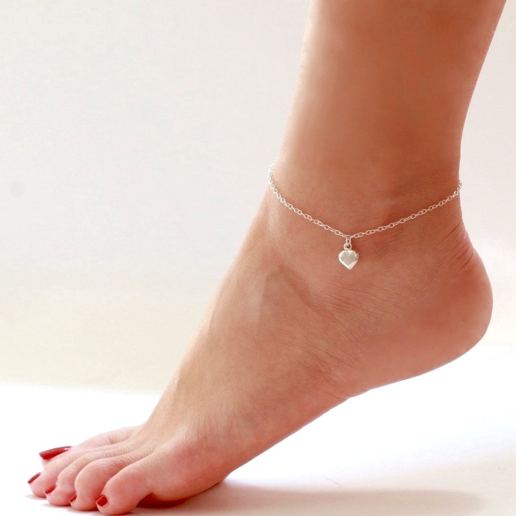 Charming Heart Anklet