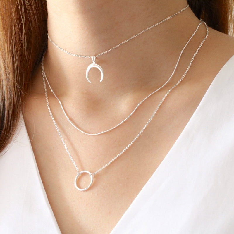 Chic Circle Necklace