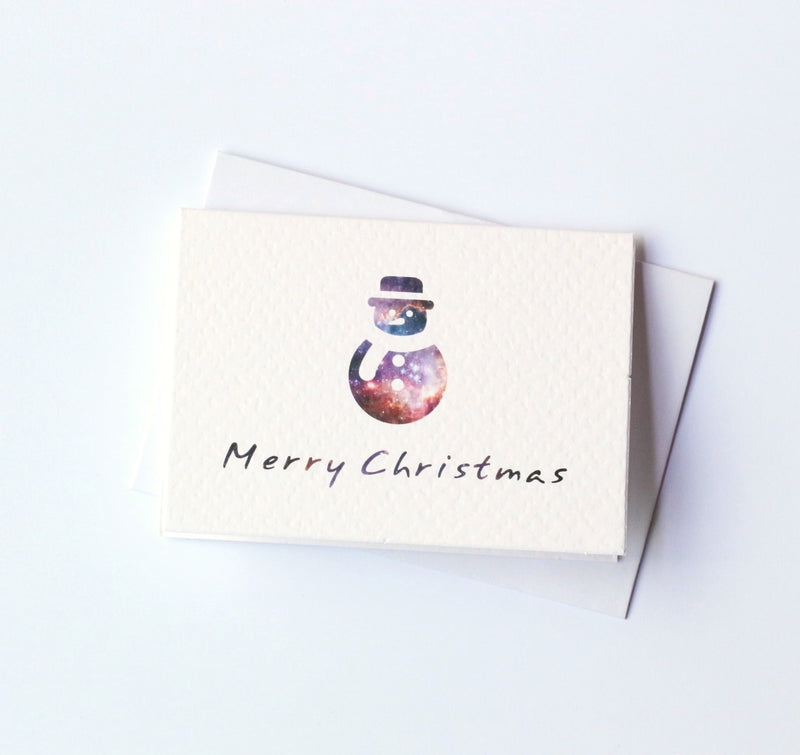Christmas Snowman Card Mini