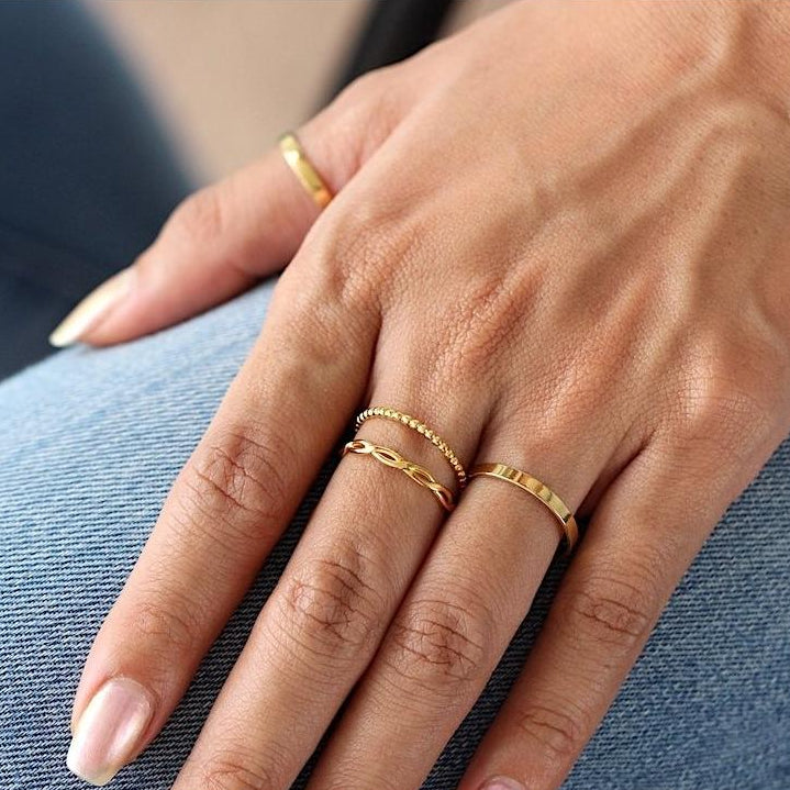 Classic Band Ring Gold